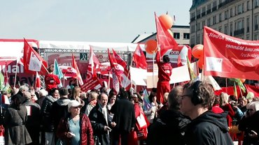 Equal Pay Day, 20.03.2015 in Berlin