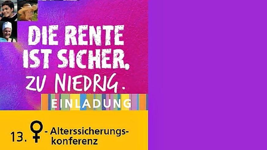 Frauen-Alterssicherungskonferenz 2017