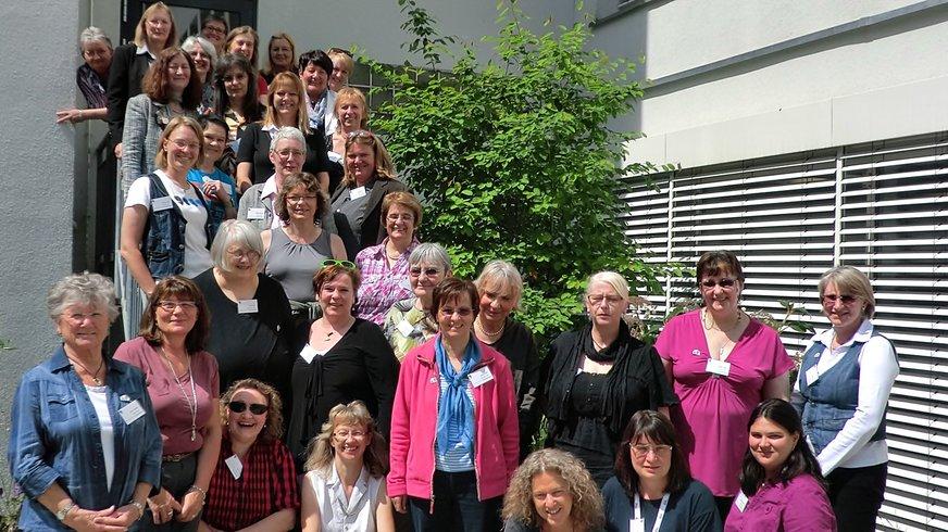 Landesfrauenrat Bayern 2011 (Gruppenbild / Bühne)