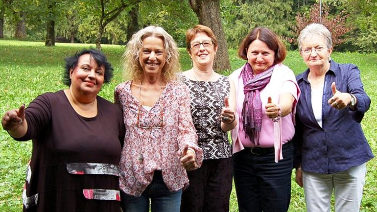 Mitglieder des Präsidiums des Landesfrauenrates 2015