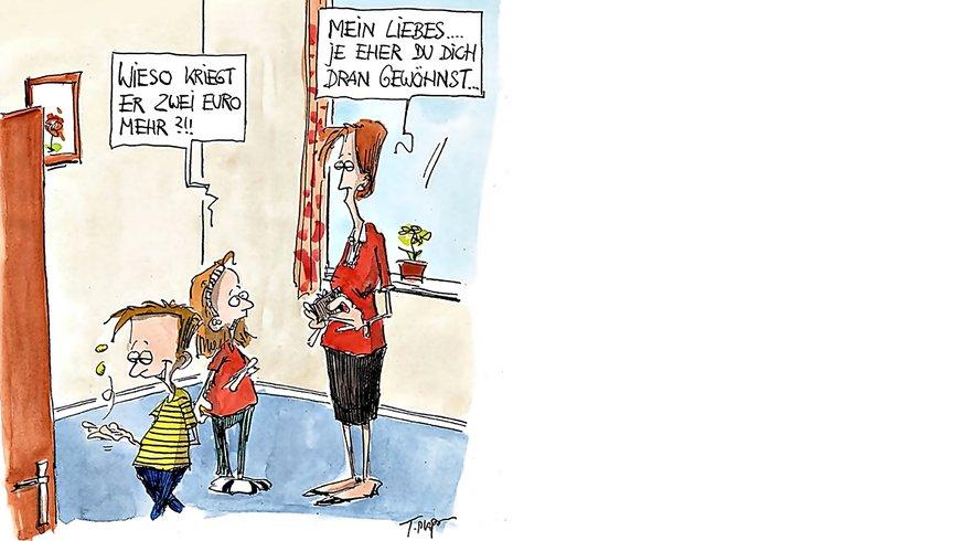 "Plakat ""Equal Pay"" (Plaßmann) Bühne"