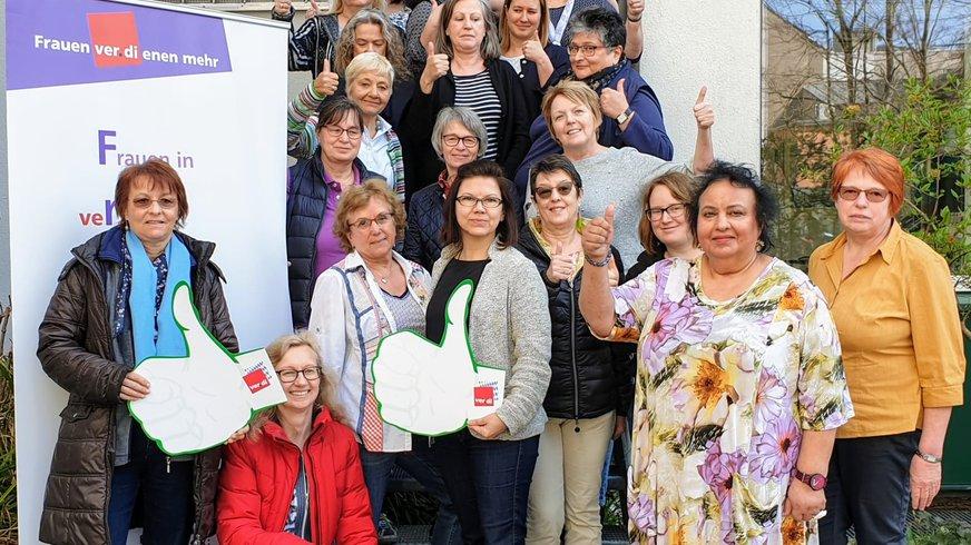 Der neu gewählte Landesfrauenrat (Foto Juli 2019)