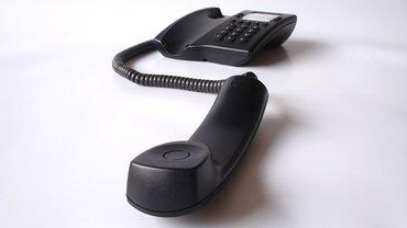 Telefon, Kontakt